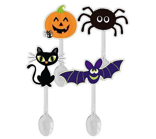 Colher para Brigadeiro Adereços Halloween -12 unidades