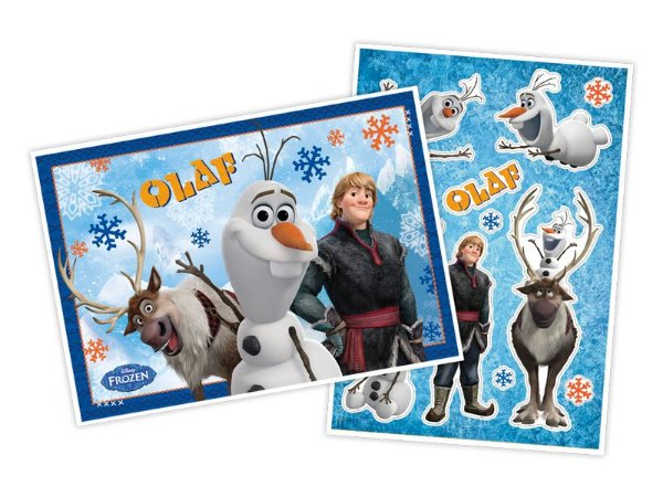 Kit decorativo Olaf
