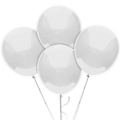 Balão N° 9 Polegadas - Branco - 50 unidades