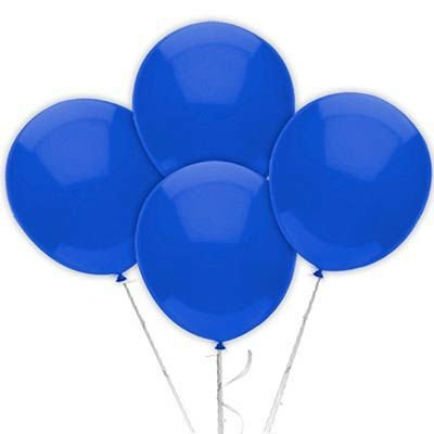 Balão n° 9 Polegadas- Azul Escuro- 50 und