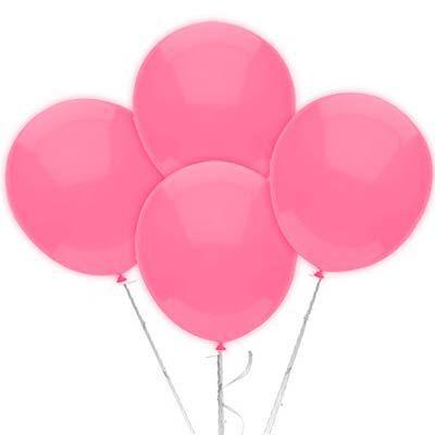 Balão n° 9 Polegadas- Rosa Claro- 50 undades