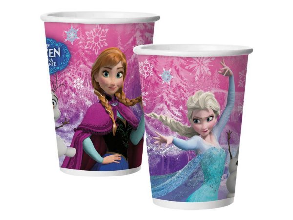 Copo Descartável 180ml Frozen