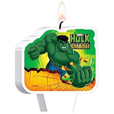 Vela de Aniversário Hulk