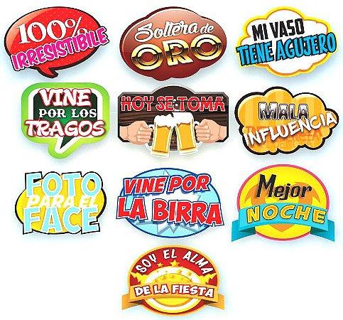 Plaquinhas divertidas em Espanhol