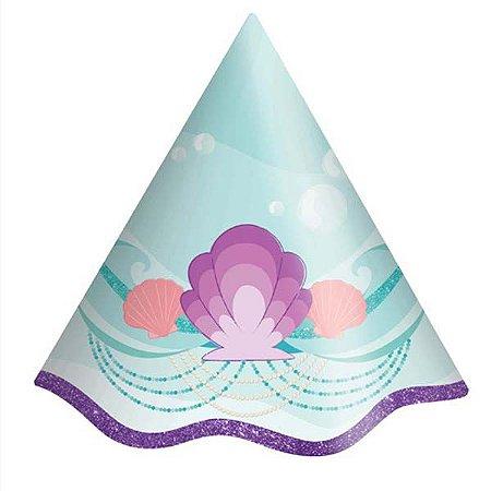 Chapéu de Aniversário da Sereia