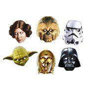 Máscara do Star Wars - 6 unidades