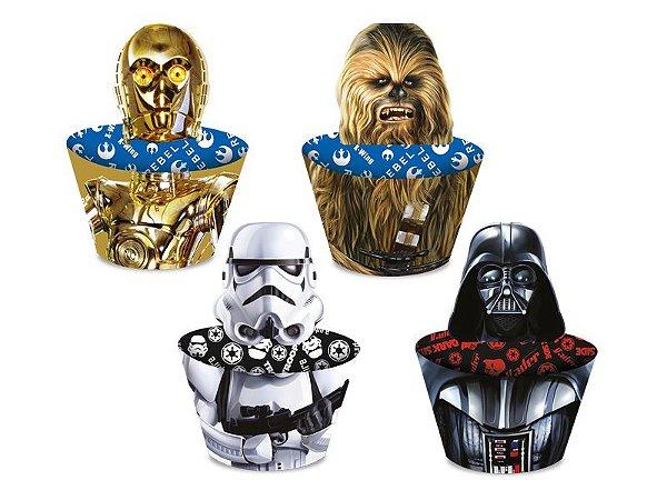 Saia de Cupcake Star Wars - 12 unidades