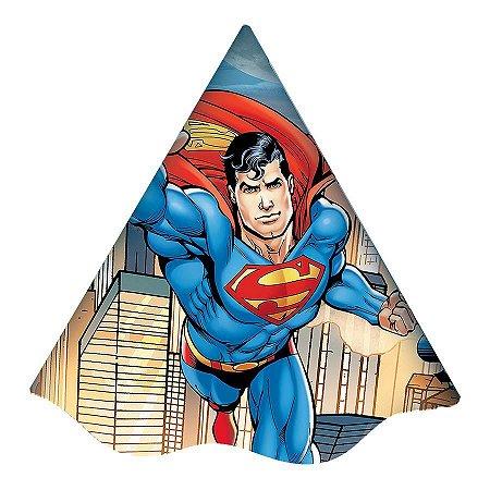 Chapéu de Aniversário - Superman - 08 unidades