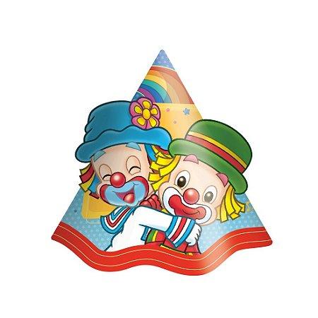 Chapéu de Aniversário Patati Patatá- 08 unidades