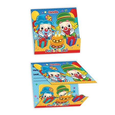 Kit Convite de Aniversário - Patati Patatá - 02 pacotes
