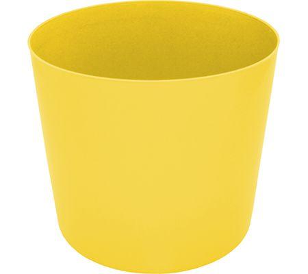 Balde de Pipoca Plástico Amarelo - 1 und