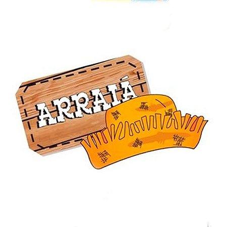 Apliques 3d Arraia - 20 unidades