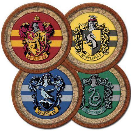 Prato de Papel - Harry Potter- 08 unidades
