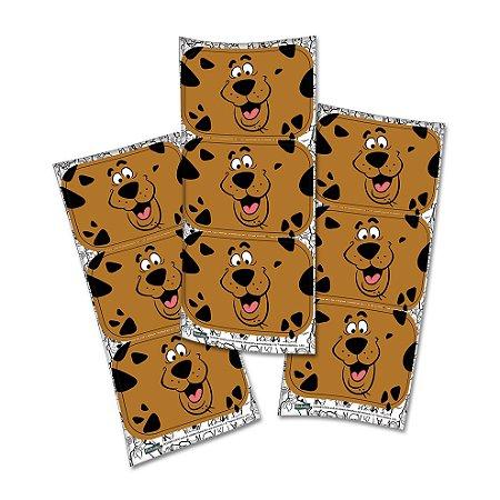 Adesivo Decorativo Retangular Scooby Doo- 12 und