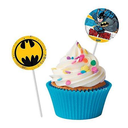 Bandeirinha Para Docinhos Batman