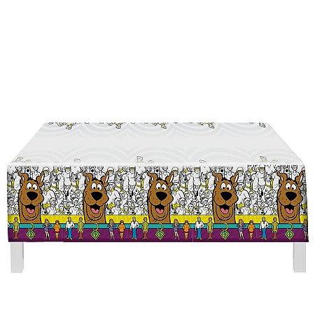 Toalha de Mesa Plástica- Scooby Doo