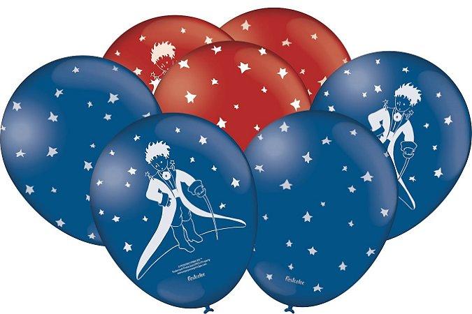 Balão 9 Polegadas Pequeno Príncipe- 25 Unidades