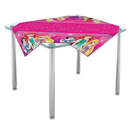 Toalha de Mesa para Convidados Princesas - 04 unidades