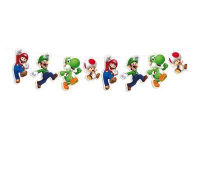 Faixa Decorativa - Festa Super Mario Bros