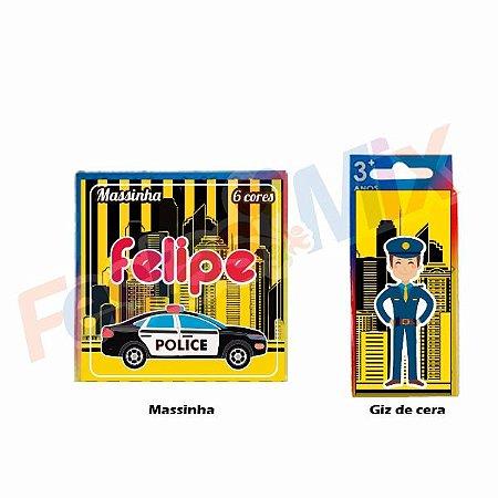 Kit Festa - Lembrancinha Personalizada - Policia