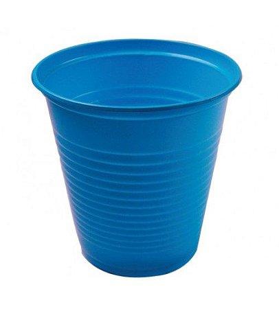 Copo Descartável 200ml - Azul Claro