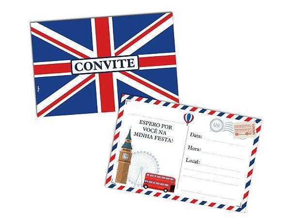 Convite - Londres - 08 unidades