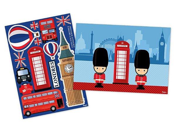 Kit Decorativo - Londres