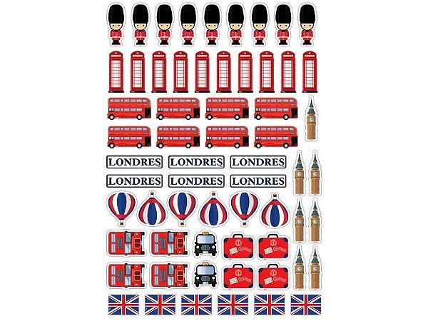 Mini Personagens - Londres - 62 unidades