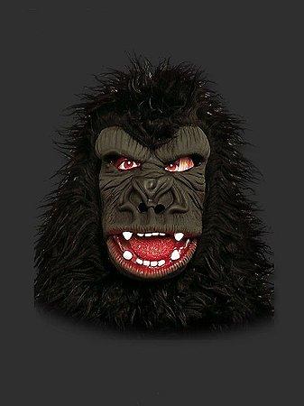 Máscara Latéx - Gorila com Pelo