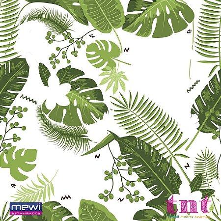 TNT Estampado - Tropical Folhagem - 05 Metros