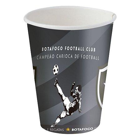 Copo de Papel 200ml - Botafogo - 08 unidades