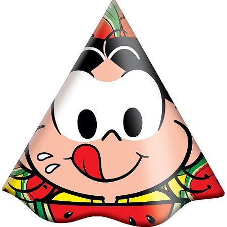 Chapéu de Aniversário - Magali Melancia - 16 unidades