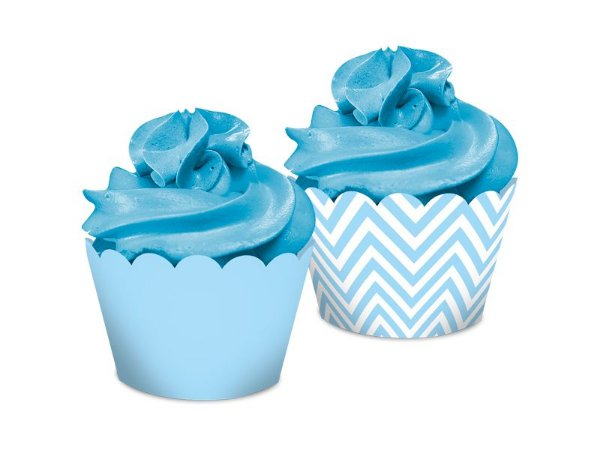 Saia Dupla Face - Festa Colors Azul Bebê - 16 unidades