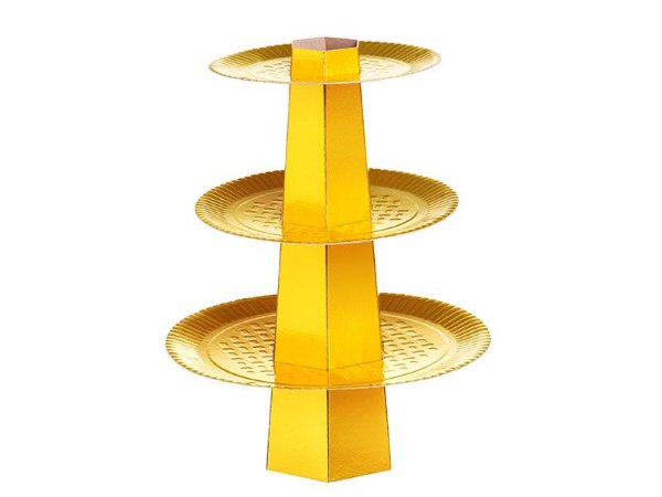 Baleiro 3 Andares - Ouro