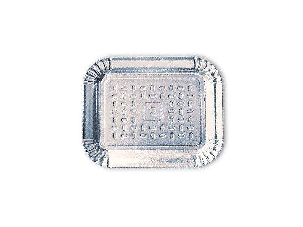 Bandeja Metalizada Prata Nº 02 (18X22Cm)