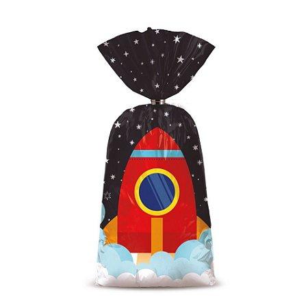 Sacola Plástica Surpresa - Astronauta - 08 unidades