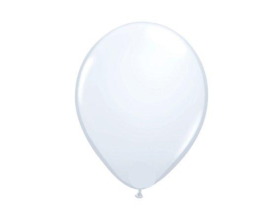 Balão Redondo Látex N° 8 - Branco - Art Latex