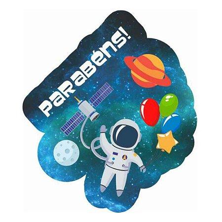Enfeite Topo de Bolo - Astronauta