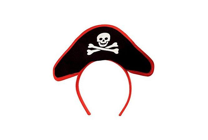 Tiara Chapéu Pirata