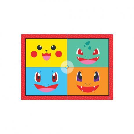 Painel 4 folhas - Pocket Monster -Pokémon