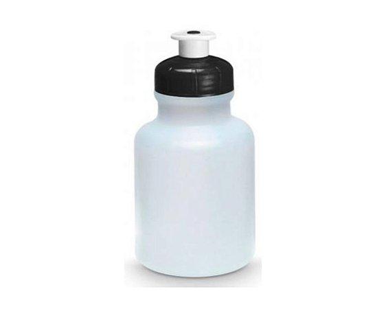 Garrafinha Squeeze tampa - 300 ml Preta