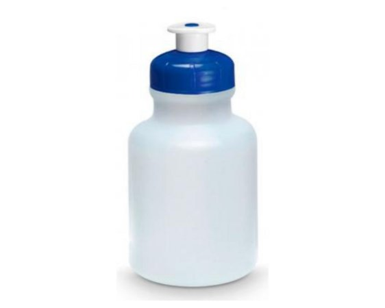 Garrafinha Squeeze tampa azul Royal- 300 ml