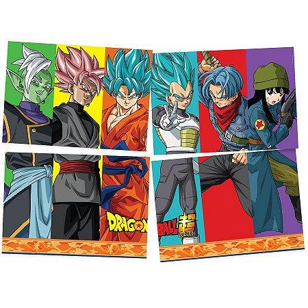 Painel 4 Folhas - Dragon Ball Z