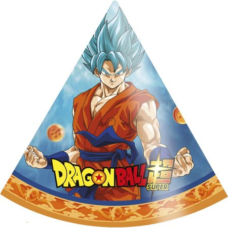 Chapéu de Aniversário - Dragon Ball Z - 16 unidades