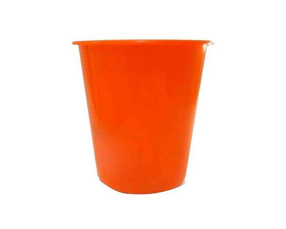 Balde Plástico de Pipoca - Laranja - 01 litro