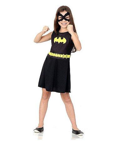Fantasia Infantil Batgirl -  P