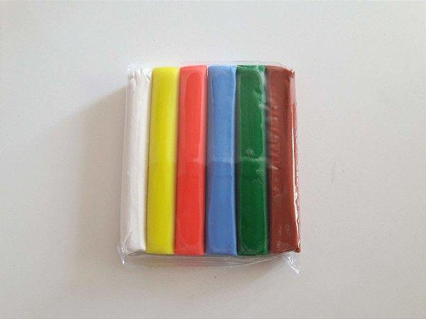 Massinha de Modelar com 6 cores