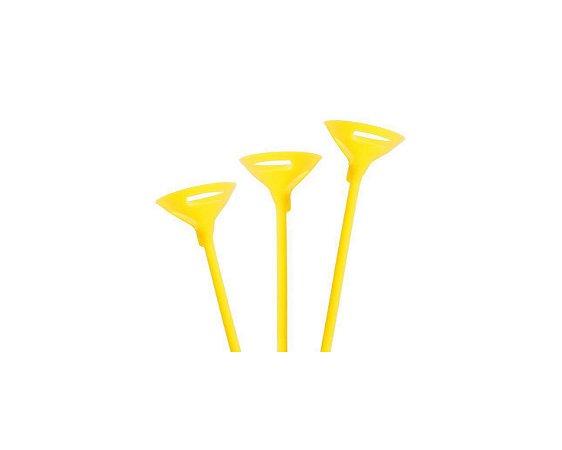 Suporte Pega Balão -  Amarelo c/10