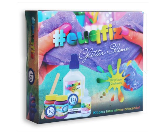 Kit para Slime Glitter 2