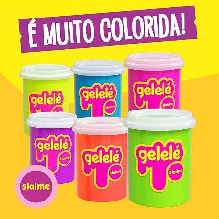 Slime Gelele -152g  Com Cheiro De Fruta - 24 Unidades
